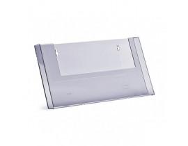 Namizno PVC stojalo  A4 formata ležeče PVC stojala (namizna/stenska)
