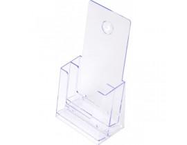 Prospekthalter Tisch/Wand 1/3 A4 (DL) format SCRITTO  Prospekthalter