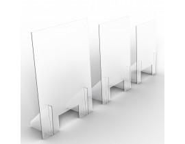 Zaščitna pregrada iz akrilnega stekla